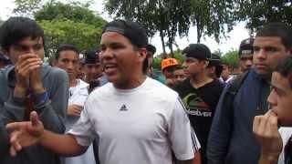 Freestyle Parque Leonardo Ruiz Pineda - Rj Mc vs Telva Mc