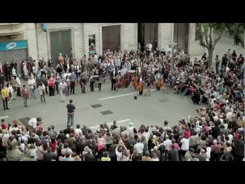 Flashmob Flash Mob - Ode an die Freude ( Ode to Joy ) Beethoven ...