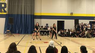 Bitch Better Have My Money Remix_ BlackPink Dance Performance STFXSS PEP RALLY 2018