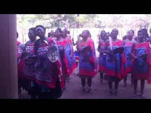 Traditional Swazi Dancing