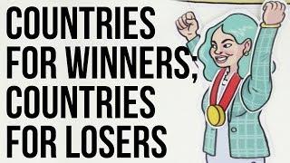 Winning vs Loosing Countries
