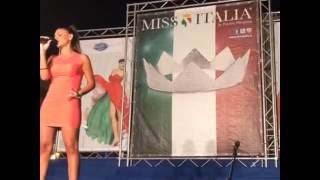 "Marika Cecere ""Stand Up For Love"" Miss Italia"