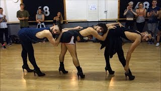 YANIS MARSHALL CHOREOGRAPHY. MUSIC BY BEYONCE. FEAT ARNAUD & MEHDI. STUDIO68 LONDON #BGT REHEARSAL