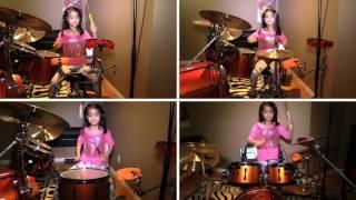 Moana - Lin-Manuel Miranda, Opetaia Foa'i - We Know The Way - Vianca Khu Belocaul Drum Cover