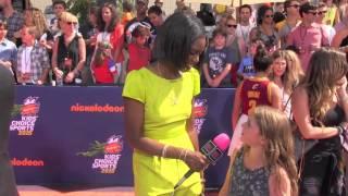 Sam Gordan @ The Kids Choice Sports Awards | Black Hollywood Live