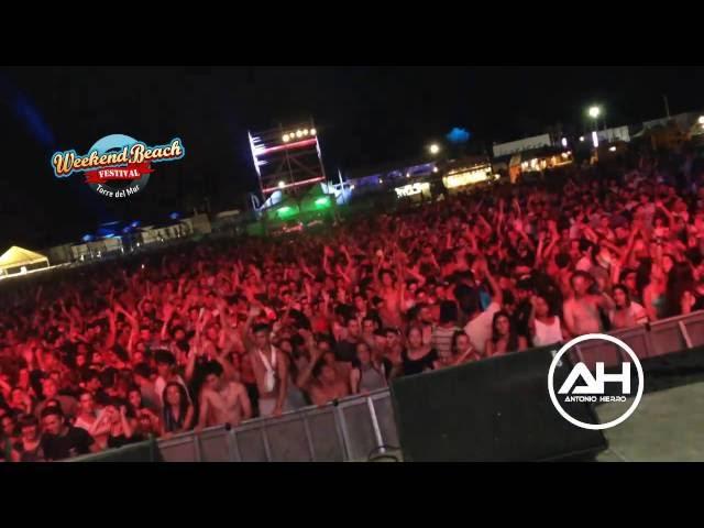 Video en directo de Antonio Hierro en Weeken Beach Festival