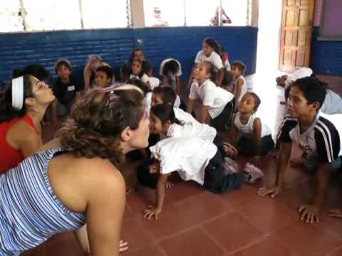 Rina Yoga – Karma Yoga for Kids in Nica school.mp4