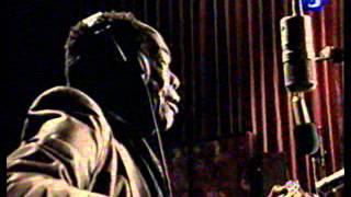 John Lee Hooker in studio