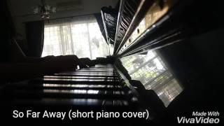 So Far Away [Agust D] BTS Suga – So Far Away (feat Suran)short piano cover