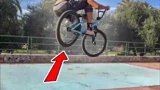 Сomo aprender BUNNY HOP en 3 minutos / How to BUNNY HOP / Clase de BMX para principiantes #2