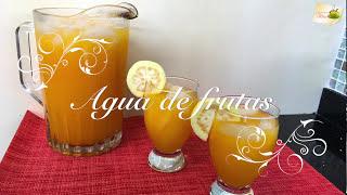 Agua de frutas mixtas  🍋 🍑 🍈