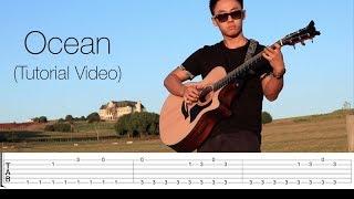 Ocean - Alok, Zeeba & IRO | Vídeo Tablatura/Free Guitar Tabs (Rodrigo Yukio)