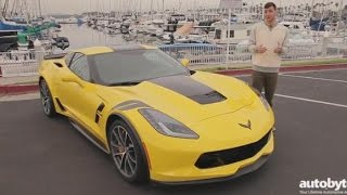 2017 Chevy Corvette Grand Sport w/ Z07 Performance Package Test Drive Video Review