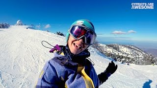 """""""This is how we do!"""" - Snow, Troodos Cyprus 2017 - Cypriots Are Awesome!"""