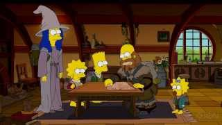 The Simpsons - The Hobbit couch gag CZ titulky