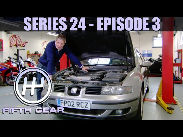 Jonny visits the Indy 500 - Fifth Gear