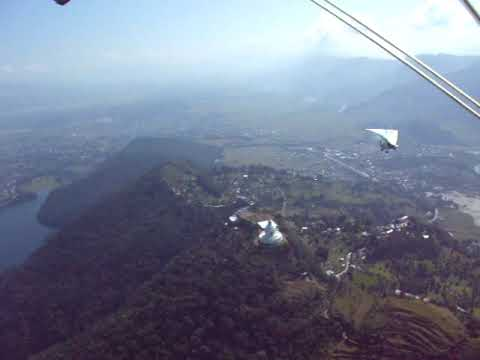 Pokara Engine Glider flight in Nepal