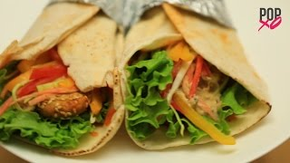 How To Make Falafel Wrap At Home - POPxo Yum