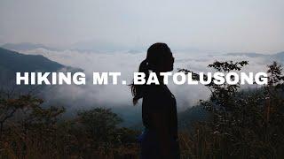 Travel Vlog: Hiking Mt. Batolusong 2017