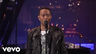 John Legend - The Beginning... (Live on Letterman)