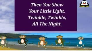 Nursery Rhymes   Twinkle Twinkle Little Star   Kids Karaoke Songs In English