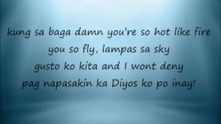 Dyosa lyrics width=
