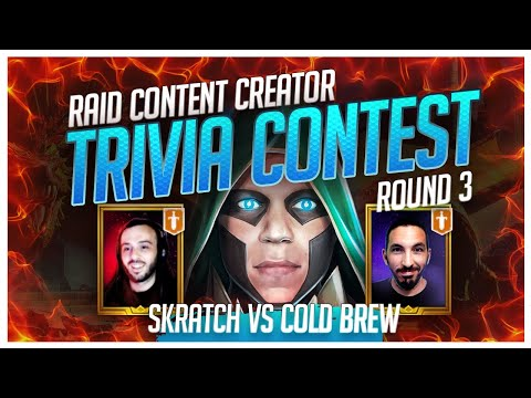 RAID | Trivia Contest | FINAL4 | ColdBrew vs Skratch!