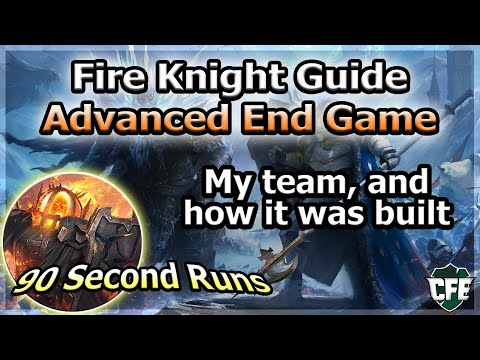 RAID Shadow Legends | Advanced Fire Knight Guide | 90 Second Runs