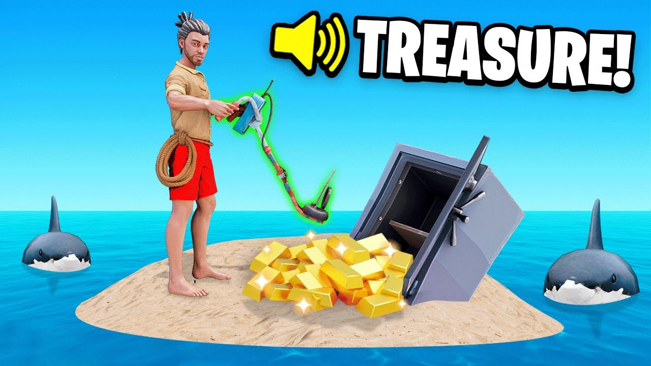 SSundee - USING a METAL DETECTOR To find TREASURE (Raft)