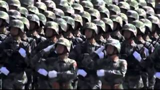 Chinese military march HD