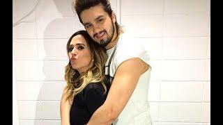Rafael Vitti  manda recado para Luan Santana com ciúmes de Tatá Werneck