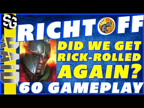 RAID SHADOW LEGENDS | RICHTOFF RICKROLL? WATCH & SEE