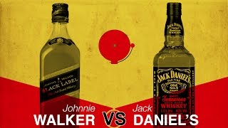 VS. - Johnnie Walker vs. Jack Daniel's