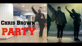 "Chris Brown - ""Party"" Official Choreography / CHRIS BROWN + USHER | Fã dança"