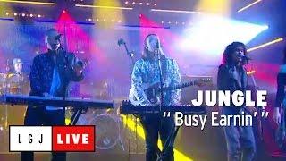 Jungle - Busy Earnin' - Live du Grand Journal