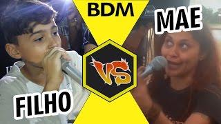 BMO Vs Tete Fox Mãe e Filho ÉPICO | Batalha de RAP do Museu width=