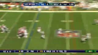 Fox sports: Moss vs. Revis. One on one.