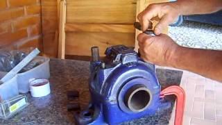 como medir folga em mancais