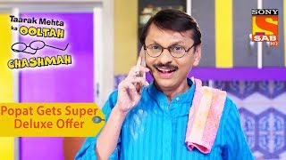 Your Favorite Character   Popatlal Gets Super Deluxe Offer   Taarak Mehta Ka Ooltah Chashmah