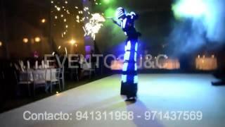 Robot Led - Eventos J&C - 15 AÑOS (Hora Loca)