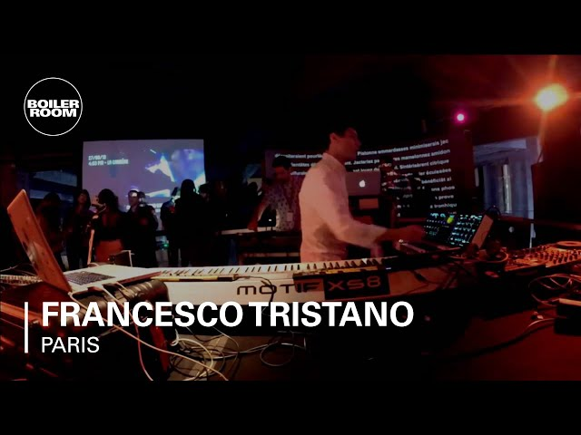 Video en directo de Francesco Tristano para Boiler Room en París