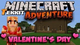 Minecraft Tekkit [Valentine's Day Special] - Princess Valentine!