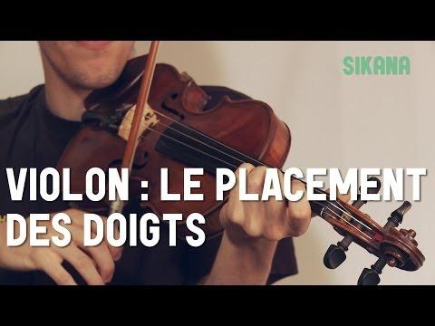 comment placer ses doigts sur un violon