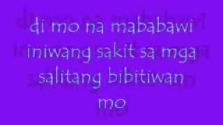 di na mababawi lyrics.wmv