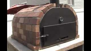 """Brick N Flame"" Wood Fire Brick Oven by Mr Energy"