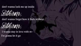 Evanescence - Lithium [ Male version / Lyrics ]