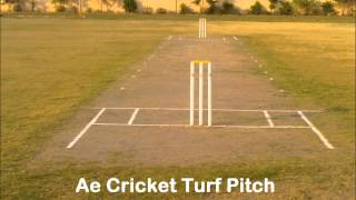 Ae Cricket Pitch Construction