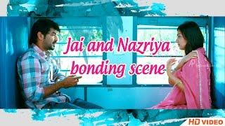 Thirumanam Ennum Nikkah Tamil Movie - Jai and Nazriya bonding scene width=