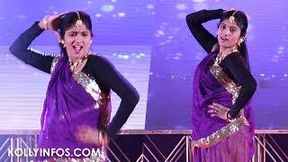 BIGG BOSS Julie  Semma Kuththu Dance performance in Jeppiaar Engg College