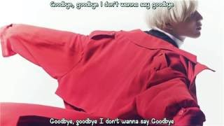 Taemin - Sayonara Hitori Korean Version (Eng sub - Hangul - Roma) HD